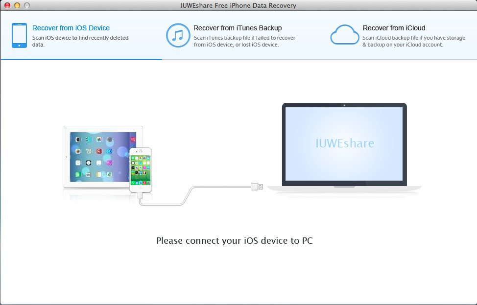 Mac Free iPhone Data Recovery