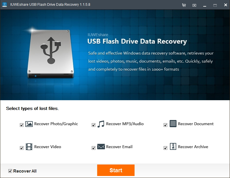 Fix 'usb/hard drive not spinning up' error without losing data.